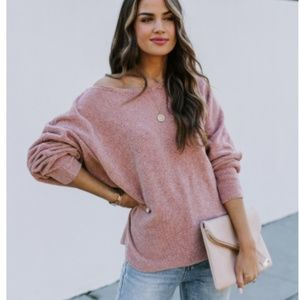 LENA Slouchy Knit Sweater